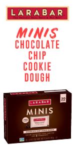 Larabar Chocolate Chip Cookie Dough Mini Bars
