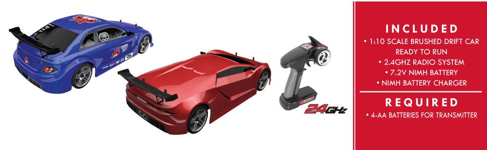Redcat Lightning EPX Drift 1/10 Scale Ready to Run Drift On Road Hobby Grade RC Car