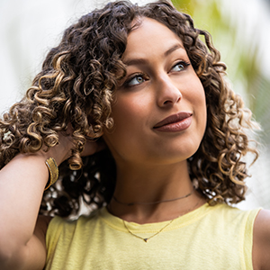 curly hair product offers hydration