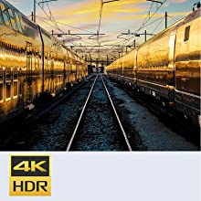 Uncover the detail with 4K HDR