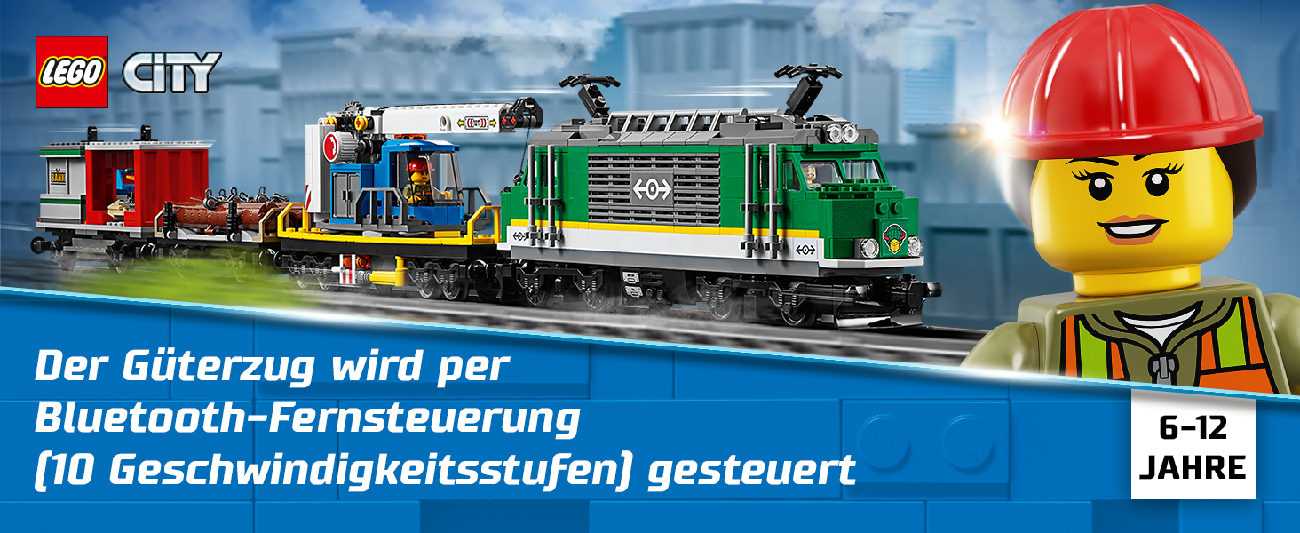 Lego RC Eisenbahn TRAIN 60198 Zubehör LKW TRUCK CAR Fahrzeug