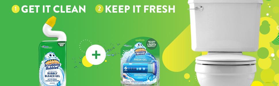 1) Get it clean 2) Keep it fresh