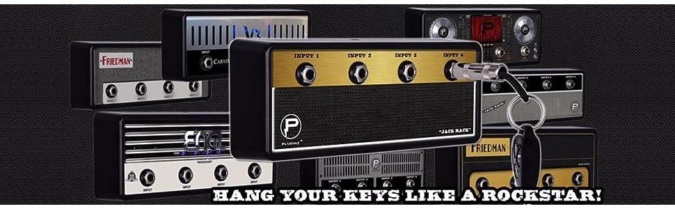 Pluginz Guitar Plug Keychains