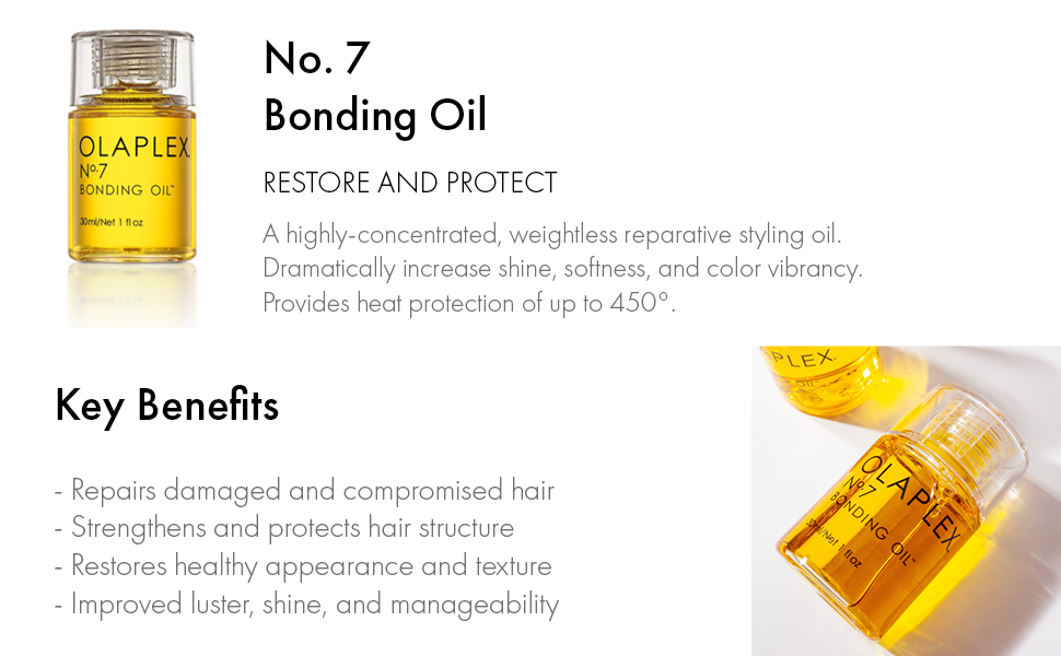 Bonding Oil, Restore and Protect