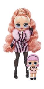LOL Surprise!  Модная кукла с большим париком OMG Winter Chill