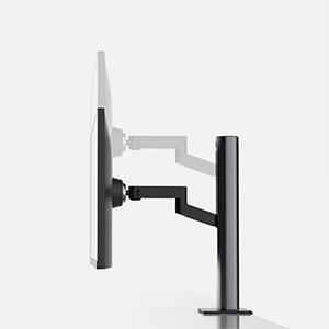 LCD-monitor, uitgebreide hoogte.