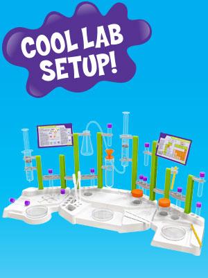 cool lab setup