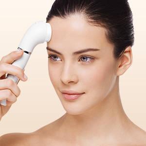 Braun Face 830 - Depiladora facial con cepillo de limpieza