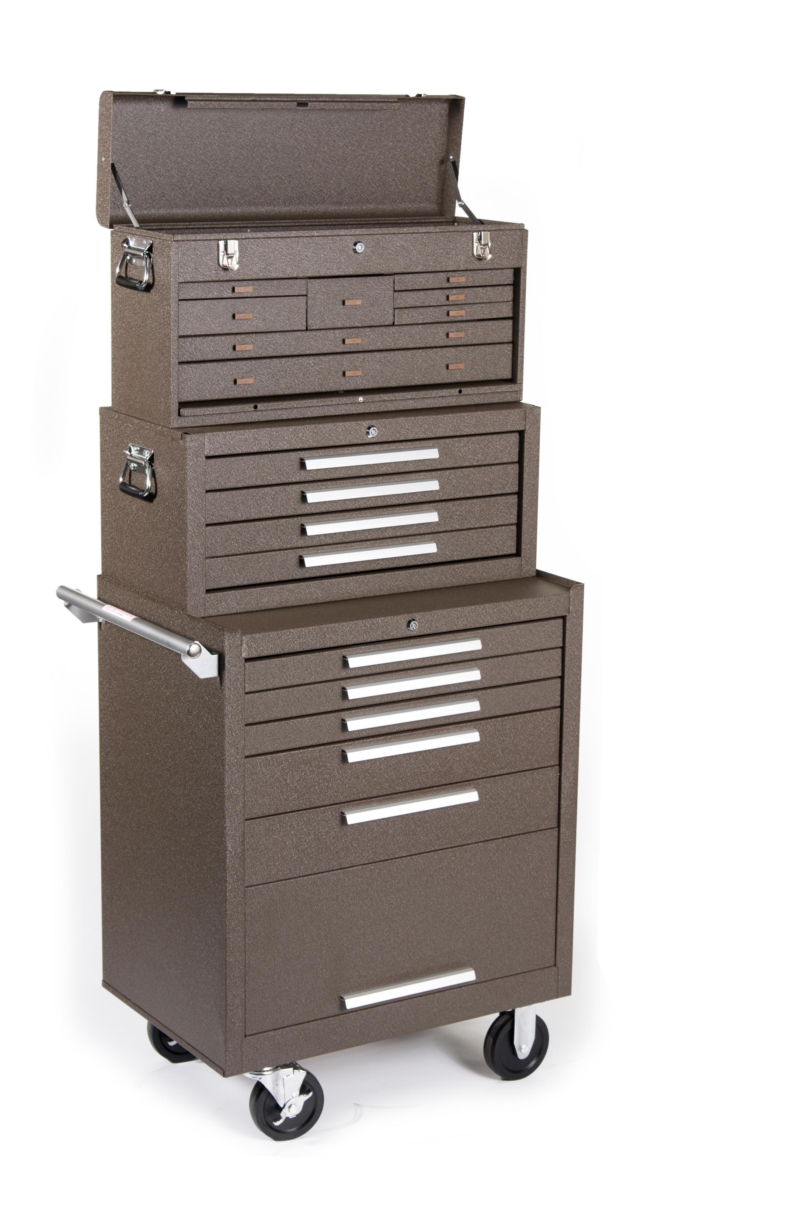 Kennedy Manufacturing 3611B 11-Drawer Machinist's Chest with ...