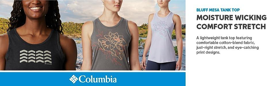 Columbia Women's Bluff Mesa Tank Top shirt