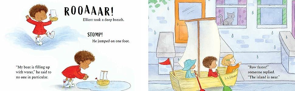 Sunday Rain: Pova, Rosie J., Rauscher, Amariah: 9781911373971: Amazon.com:  Books