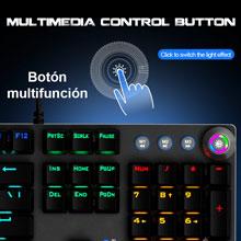 Teclado gaming mecánico retroiluminado Stinger RX 1000 Kr