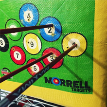 easy arrow removal, bag target, bow target, easy arrow pull, archery target with easy arrow removal