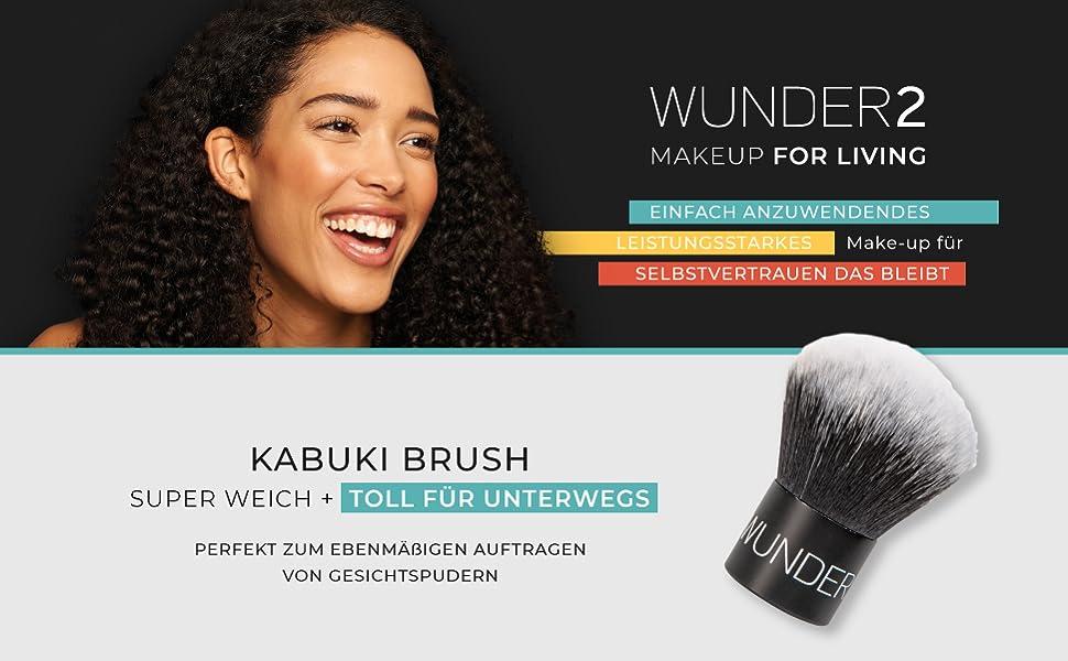 Wunder2 wunderbrow highlighter schminpinsel set beauty blender coverproof fondation colour changing