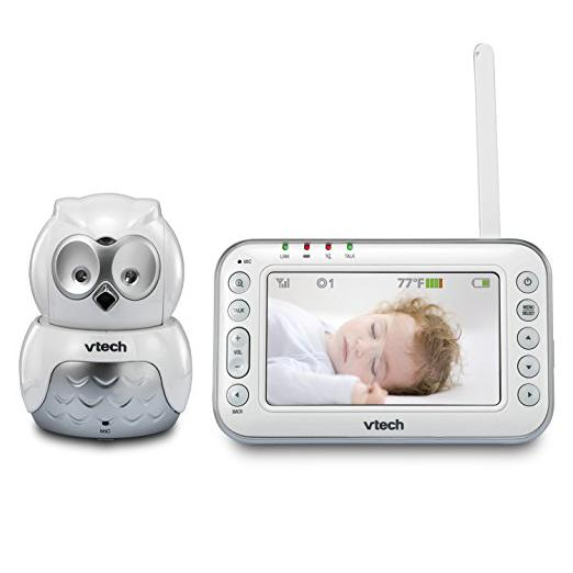 Amazon.com : VTech VM344 Owl Video Baby Monitor with