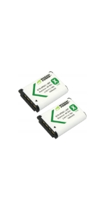 Wasabi Power Battery 2-Pack for Sony NP-BX1