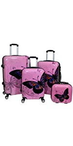 de0b75f17ba2 Amazon.com | World Traveler 2-Piece Hardside Upright Spinner Luggage ...