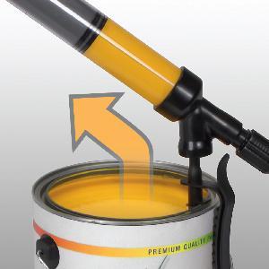 PaintStick EZ-Twist, Paint Stick, EZ twist, holds paint in the handle,how to paint walls