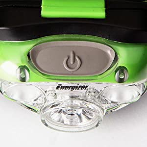 Powerful LED Headlamp, Smart Dimming Technology, full control over light intensity