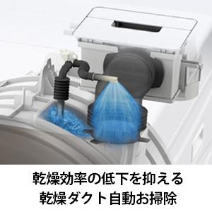 乾燥ダクト 自動掃除 乾燥効率