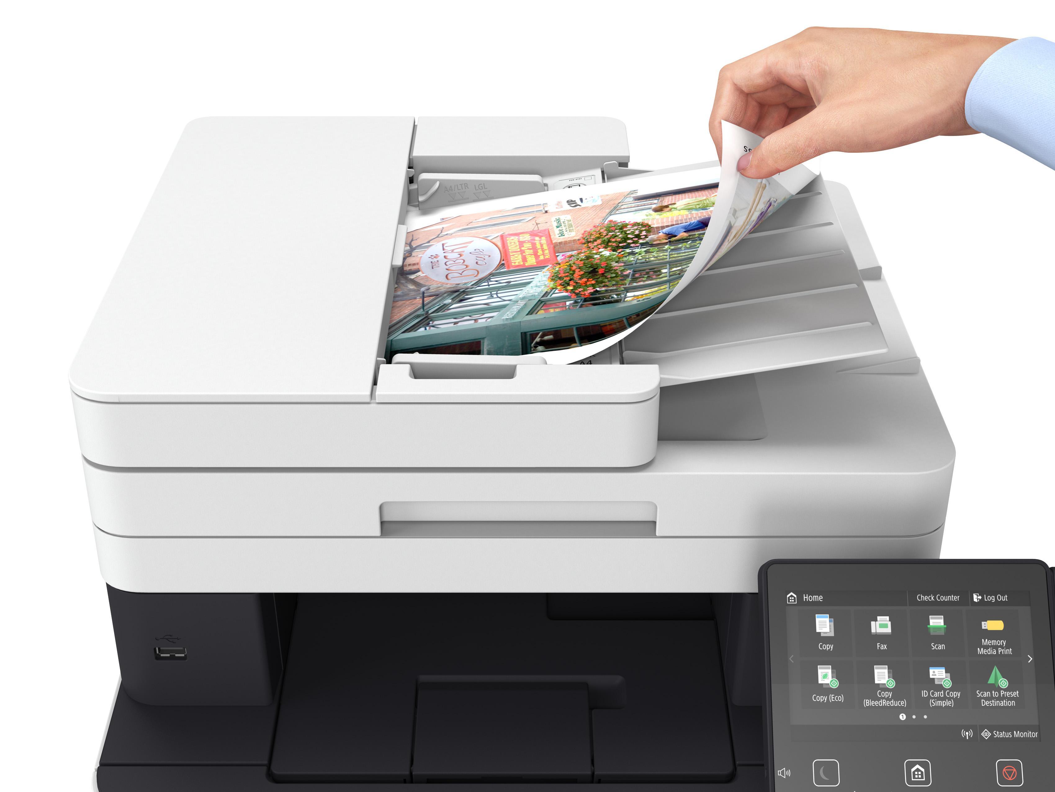 Canon Imageclass Mf634cdw Wireless Color Laser Printer