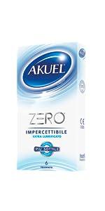 preservativi AKUEL zero
