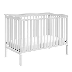 Amazon Com Stork Craft Sheffield Fixed Side Convertible Crib White Storkcraft Sheffield Ii