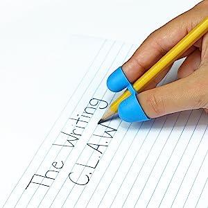 pencil grips, handwriting