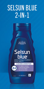 Selsun Blue 2-in-1 Shampoo and Conditioner