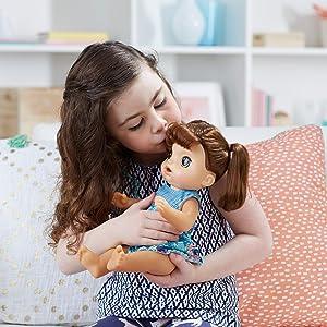 Amazon Com Baby Alive Sweet Tears Baby Brunette Toys