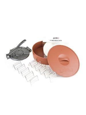 Amazon.com: Alpha Living 1 x Tortilla calentador con 1 x ...