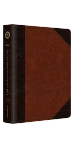 Single Column Journaling Bible, TruTone, Brown/Cordovan, Portfolio Design