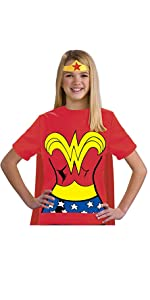 girls wonder woman shirt