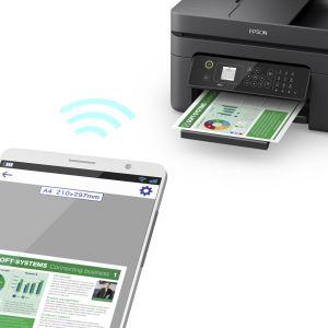epson, personeelsmacht, zakelijke printer, thuisprinter, wf-2830, individuele inkten, cartridges, papier,