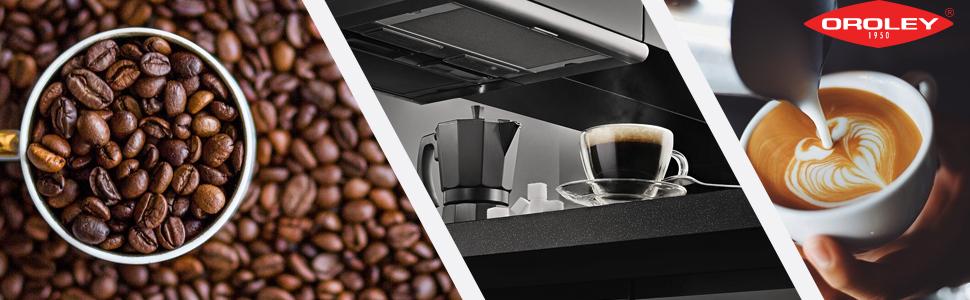 Oroley Alu1 Cafetera para 1 taza, Aluminio, Gris: Amazon.es: Hogar