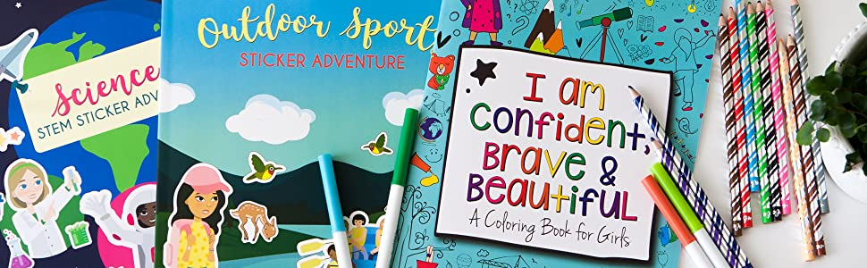 Hopscotch Girls Activity Books