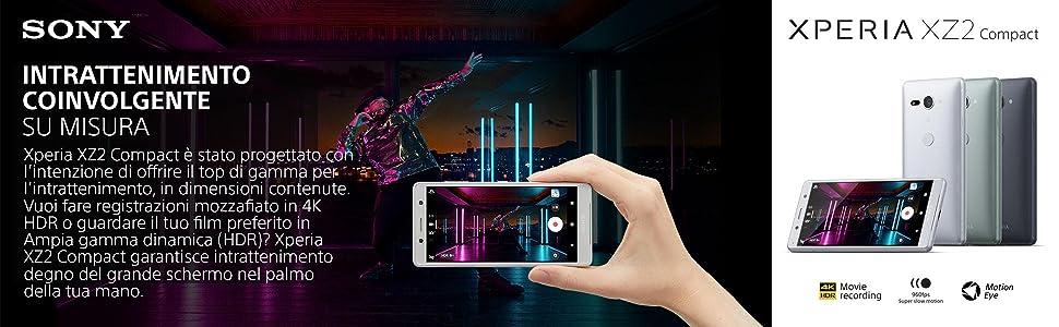 Sony Xperia XZ2 Compact, XZ1, XZ, X