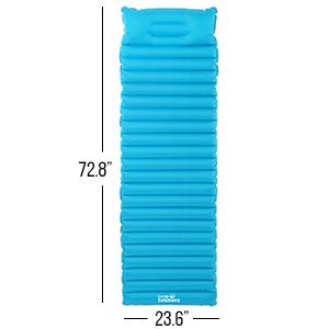 Amazon.com: Soluciones de Camp Sleeping Air – Colchón Pad ...