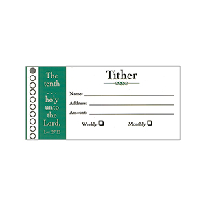 tither envelope, tithe and offering envelope, bill size offering envelope, offering supplies