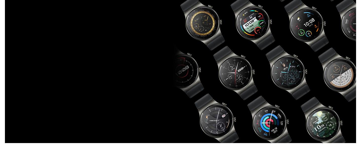 Select the watch face with over 200+ choices, so it can always match your style of the day*.