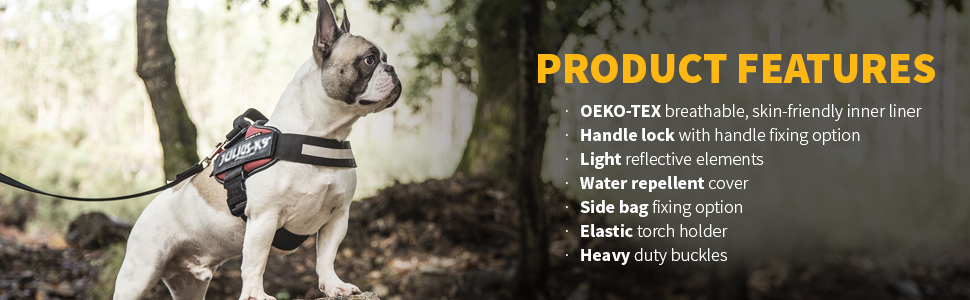 76b37270 Julius-K9 16IDC-P-1 IDC Powerharness, Dog Harness, Size 1, Black ...