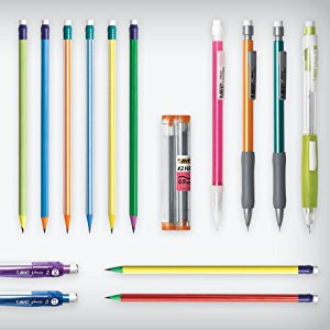BIC;pencils;staedtler;hb;graphite;writing;school;columbia
