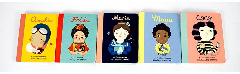 Little People Big Dreams Board Books
