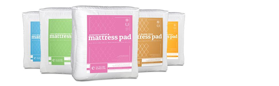 Amazon Mattress Pad with Fitted Skirt Extra Plush