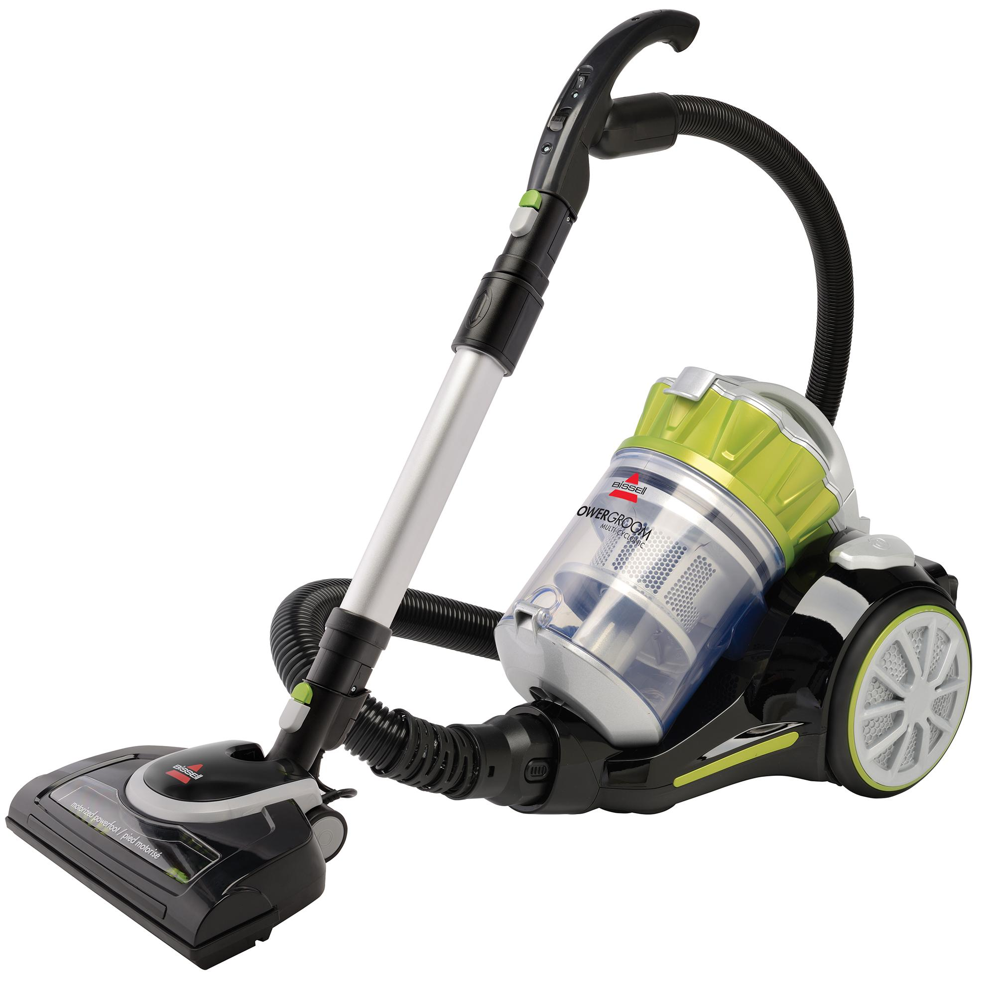 Kitchen Vacuum: Bissell Powergroom Multicyclonic Bagless Canister Vacuum