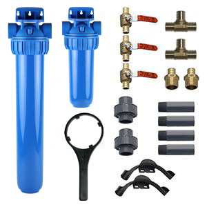 whole house water filter pro kit