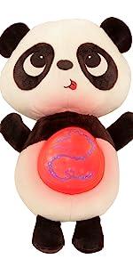 soft toy, baby toy, plush, interactive, stuffed animal, panda, songs, lights, bedtime, sleep