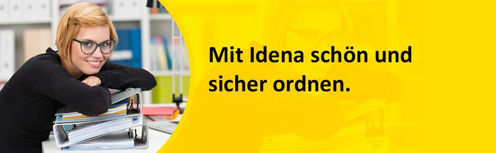 4 Stk Plastikschnellhefter für Kontoauszüge Plastik Schnellhefter Ordner FARBEN+