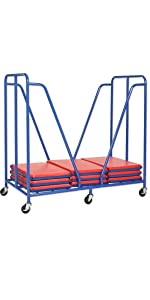 Amazon.com: Alfombra para descansar plegable ECR4Kids., Azul ...