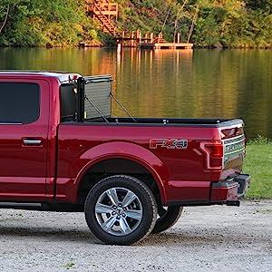 FX31004 Undercover Flex Hard Folding Truck Bed Tonneau Cover Fits 02-20 Dodge Ram 1500-3500 64 Bed